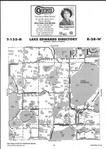Map Image 038, Crow Wing County 2001 Published by Farm and Home Publishers, LTD